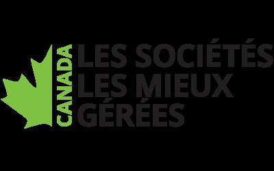 Jefo est lauréate du programme des sociétés les mieux gérées au Canada pour la troisième année consécutive