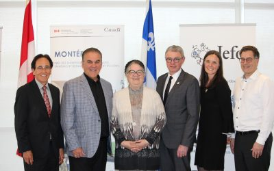 Jefo receives financial support from Government of Canada