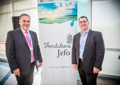 Cocktail Fondation Jefo 2019 - Jean Fontaine et Nicolas Jobin