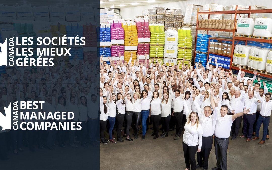 Jefo nombrada entre las 50 «Empresas mejor administradas»
